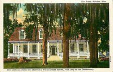 Mississippi, MS, Natchez, the Briers where Jefferson Davis was married Linen PC
