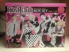Ouran High School Host Club Manga Box set NIB volumes 1-18 new! Collectible box