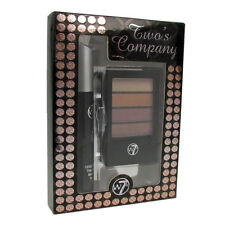 Make Up Gift Set Mascara & Eye Shadow W7 Cosmetics Two's Company Bronze