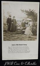 "Vintage Postcard ""Love's Old Sweet Song."" 1904"