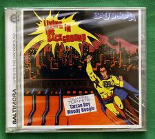 CD BALTIMORA. LIVING IN THE BACKGROUND (bonus tracks) ESonCD
