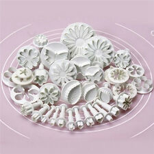 33pcs Pastry Cutters Tools Sugarcraft Cake Decorating Mold Fondant Lcing Plunger