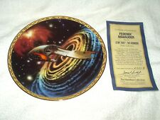 The Hamilton Collection Collector's Plate Star Trek Voyagers Ferengi Maruader