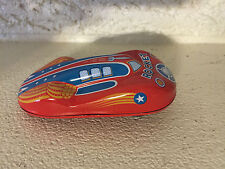 Schylling Red Rocket Friction Racer friction powered engine with race sound! DL