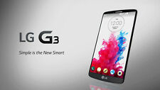 UNLOCKED T Mobile Family Simple Straight Talk LG G3 D851 Black GSM Great