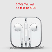 New Genuine Apple MD827LL/A Earpods, Earphones for iPhone 6 5 4S Remote & Mic