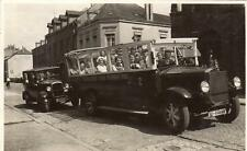 Trier Mercedes Charabanc Coach RP old pc used 1931