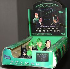 BATMAN FOREVER 1995 Character Gum Figures and Display--Batman, Riddler, Two-Face