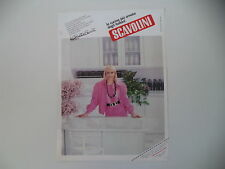 advertising Pubblicità 1985 CUCINE SCAVOLINI e RAFFAELLA CARRA'