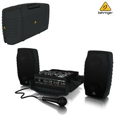 Behringer EUROPORT PPA200 Portable PA System w/ Wireless NEW l Authorized Dealer