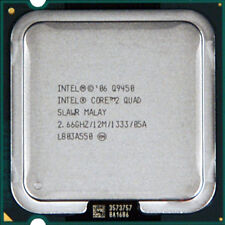 Intel Core 2 Quad Processor Q9450  (12M Cache, 2.66 GHz, 1333 MHz FSB
