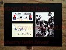 ADOLF GALLAND & WERNER MOLDERS signed autographs PHOTO DISPLAY