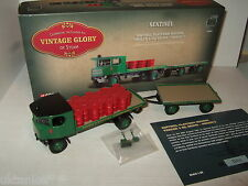 Corgi 80008 Sentinel Platform Wagon Trailer & Drums for Morris's in 1:50 Scale.
