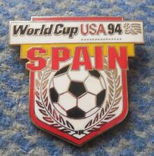 TEAM SPAIN WORLD CUP SOCCER FOOTBALL FUSSBALL USA 1994 PIN BADGE