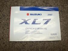 2007 Suzuki XL7 Operator User Guide Owner Manual Luxury Special Limited 3.6L V6