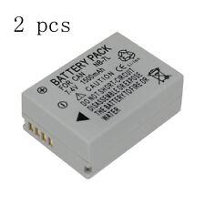 2PCS 7.4V 1500mAh NB-7L NB 7L NB7L Camera Battery For Canon G10 G11 G12 SX30IS