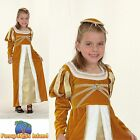 KIDS MEDIEVAL REGAL PRINCESS JOSEPHINE - Ages 3-10 - Girls Fancy Dress Costume
