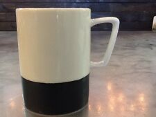 Large 2013 Starbucks Abbey White Black 16oz Coffee Tea Cup Mug NEW With TAG