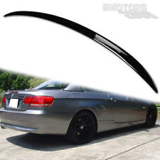 PAINTED BMW E93 3 SERIES CONVERTIBLE M3 TYPE REAR TRUNK SPOILER WING 335i ABS