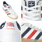 Adidas TEAM GB 2012 WHITE GAZELLE INDOOR TRAINERS BNIB Great Britain Olympics
