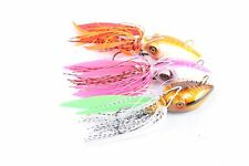Rigged 3 Pack 100g Octopus Jig Fishing Lure