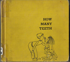 1962 Children's Book, How Many Teeth? by Paul Showers