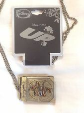 "Disney Pixar ""Up"" Carl and Ellie My Adventure Book Necklace Pendant New"