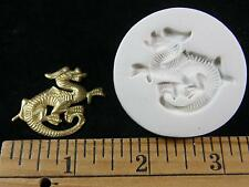 Dragon (Facing Right) Polymer Clay Mold (#MD1454)