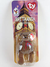 New in Package McDonald's TY Beanie Babies Britannia The Bear 1999