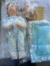 """Sleeping Like An Angel"" Ashton Drake Porcelain Doll- ""God Sends a Little Angel"""