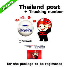 ADD $2.5 FOR TRACKING NUMBER BY THAILAND POST FOR CHECK STATUS THE ITEMS
