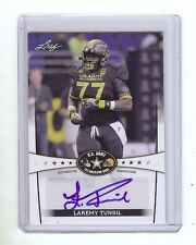 LAREMY TUNSIL - Ole Miss Rebels - 2013 Leaf Army Certified AUTOGRAPH RC