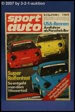 Sport Auto 4/74 Lancia Stratos Matra Bagheera + Poster