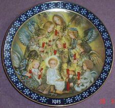 Konigszelt Bayern DIE NACHTWACHE DER ENGEL - THE ANGELS VIGIL Christmas Plate