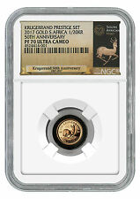 2017 South Africa 1/20 oz Gold Krugerrand NGC PF70 UC Exclusive Label SKU45658