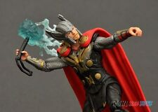 Marvel Thor the Dark World Thor with Lightning Bolt Hammer Figure Hasbro