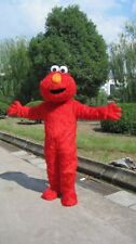 Hot Sesame Street Red Elmo Monster mascot costume Cartoon Cosplay Fancy Dress