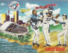 1990 Shopper's Drug Mart Toronto Blue Jays Calendar