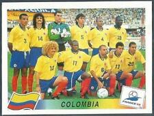 PANINI WORLD CUP FRANCE 1998- #445-COLOMBIA TEAM PHOTO