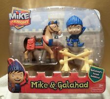 Fisher Price Mike The Knight Mike & Galahad Play Set NIB Action Figures 2+