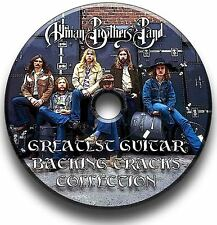 ALLMAN BROTHERS STYLE ROCK GUITAR AUDIO BACKING TRACKS CD COLLECTION LIBRARY