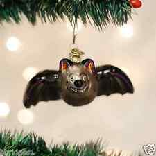 *Batty Bat* Dracula [26054] Old World Christmas Halloween Glass Ornament - NEW