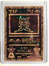 Pokemon card - Ancient Mew Full Art 1st Egyptian Edition Promo PL-Ex-M 1999 Ed