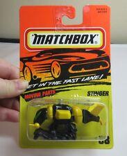Vtg 1995 Matchbox car. Stinger . Action System