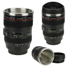 Tea Mug Cup New 24-105mm Stainless Lens Thermos Camera Travel Coffee