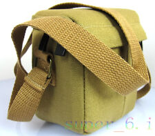 Canvas camera bag case for Nikon J1 J2 J3 V1 V2