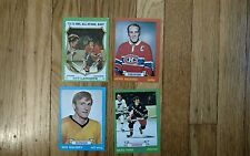 4 1973 74 hockey cards Park Maloney Richard Lapointe Near Mint