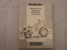 SUZUKI RF600 1994 OWNERS MANUAL HANDLEIDING MANUEL DU PROPRIETAIRE