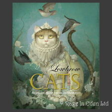 LOWBROW CATS Hardback Art Book Featuring Jasmine Becket-Griffith, Ray Caesar etc