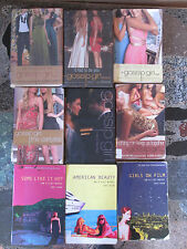 GOSSIP GIRL and A-LIST LOT OF 9 YOUNG ADULT NOVELS Cecily Von Ziegesar Zoey Dean